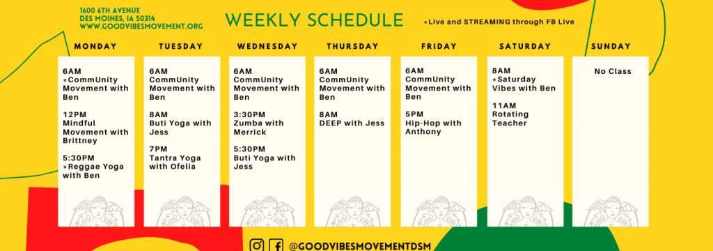 Copy Of Yellow And Orange Weekly Learning Schedule 1